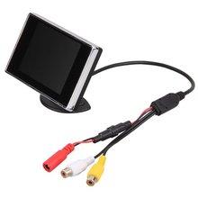 "AUTO 3.5 ""TFT LCD de Pantalla Del Monitor de Reserva de La Cámara Para El Coche"