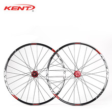 KENT Mountain Bike Disc Wheels 29 Aluminum CNC 28 Hole Mtb Wheelset For SHIMANO 11 Speed Bicycle Wheels Compatible 12*142 Thru meroca mtb mountain bike bicycle sealed bearing 26inch wheel six hole central lock wheelset rim 27 5 29