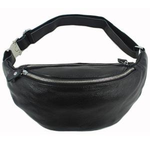 Fashion Genuine Leather waist bag for men fanny pack Leather belt bag waist pack bum bag money belt waist pouch molle pochete(China)