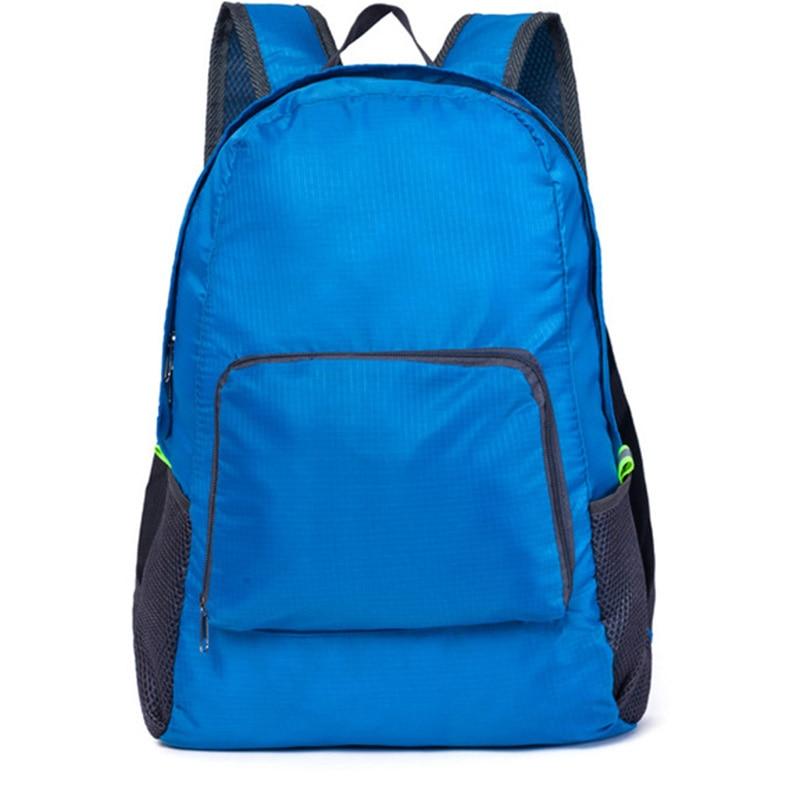 Men's School Backpack Black Travel Backpack Schoolbag Large Capacity Foldable Bagpack For Male Casual Rucksack Men Shoulder Bag(China)