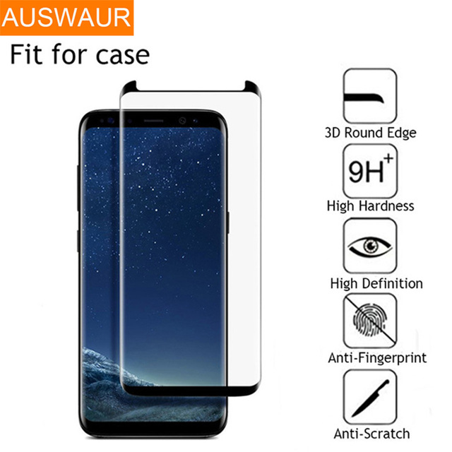 2b6a39bb4 Vidro temperado Para Samsung Galaxy S9 Plus S8 Além de Protetor de Tela  Para Samsung Galaxy