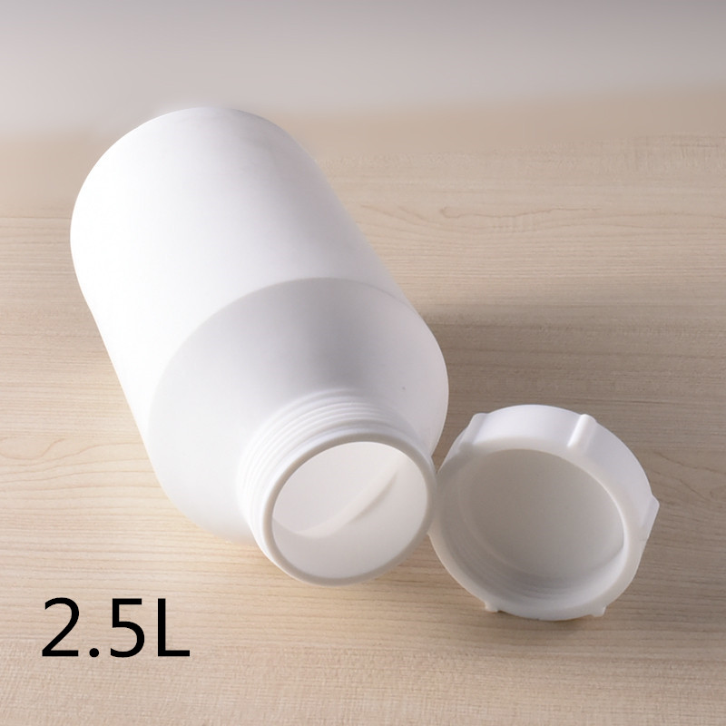 2500ML Teflon bottle Acid Alkali Resistance PTFE plastic Packaging container Chemical Raw material concentrate storage bottles2500ML Teflon bottle Acid Alkali Resistance PTFE plastic Packaging container Chemical Raw material concentrate storage bottles