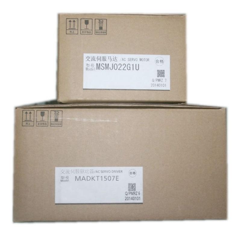 MSMJ022G1U MADKT1507E 200W 0 64nm 3000rpm 20 bit 200V Position Control Dedicated MINAS A5II servo motor