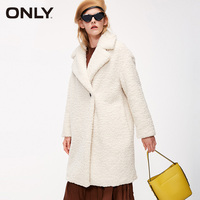 ONLY Autumn winter jacket women Faux Fur Coat Casual Overcoat | 118322512