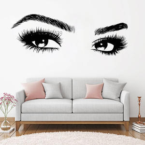 Melissalove Wall Stickers Girls Art Vinyl Home Decor Decal
