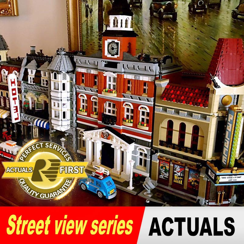 Lepin City Creators 15001 15002 15003 15004 15005 15006 15007 15008 15009 15010 15011 15016 15019 model building blocks конструктор lepin creators зоомагазин 2082 дет 15009
