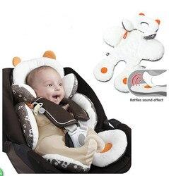 Bebê multi-purpose carrinho carrinho de bebe confortável almofada dupla-uso ajustável carro portátil 0-1 anos frete grátis