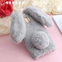 Vonada Plush Case For ZTE Axon 7 Blade A462 A110 A610 Plus A910 A511 L3 Cute