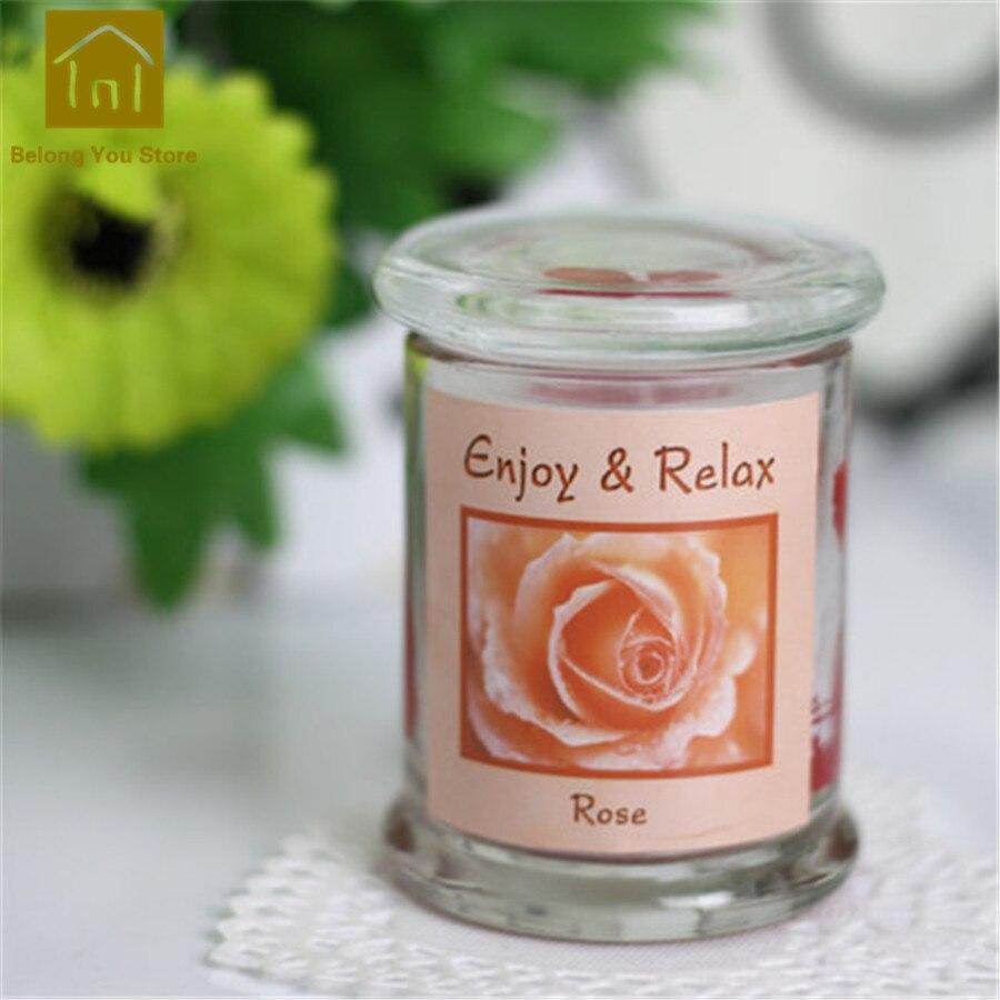 Paquet de support de Bougies chauffe-plat aromathérapie Bougies parfumées décoratives Velas Bougies parfumées fabrication de Bougies pilier JKK104 - 5