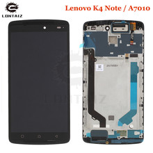 Original For Lenovo K4 Note A7010 A7010a48 LCD Screen Display+Touch Panel Digitizer For Vibe X3 Lite K51c78 X3L Lcd Frame стоимость