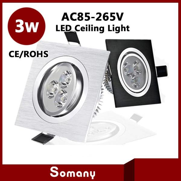 Led Light Fixtures Discount: Wholesale Discount 4pcs/lot Led Ceiling Lighting Fixtures