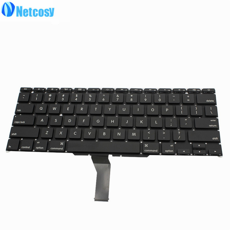 Netcosy For MacBook Air A1370 A1465 11 Laptop US Keyboard 2011 2012 US version Replacement keyboard For Macbook A1465 A1370 цена