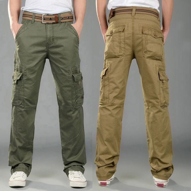 7b5c0ab0 2016 New Men's Fashion Famous Tactical Pants Military Man Men Cargo Pants  Male Overalls Casual Trousers