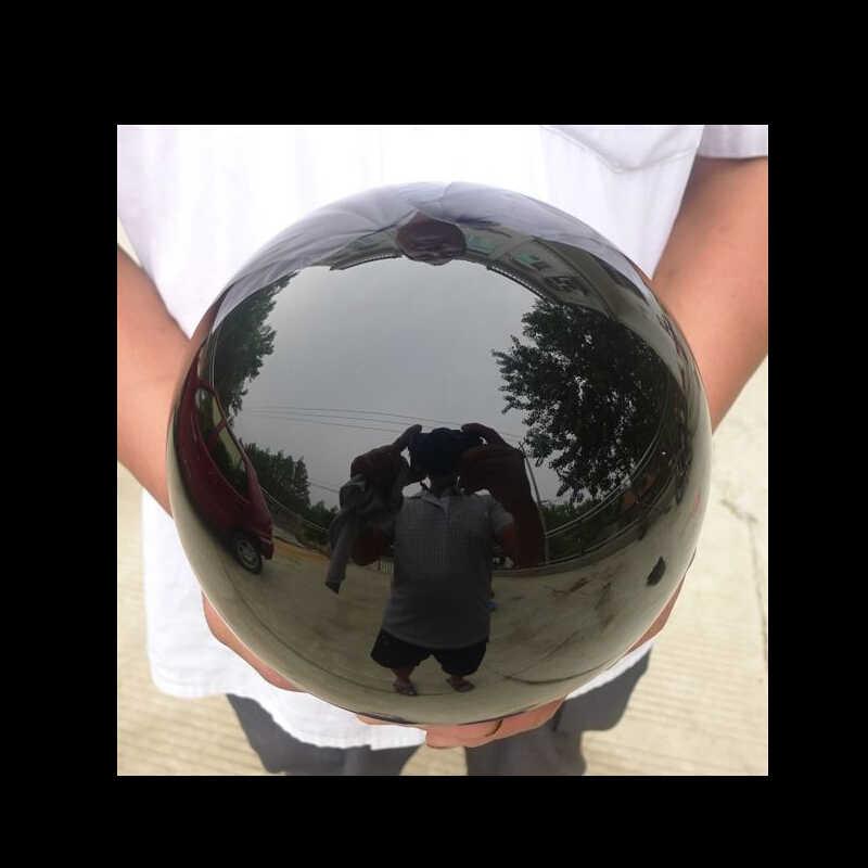Ruifafa8804058 <<< aaaaa + + + +ナチュラルブラックオブシディアンスフィア大クリスタルボールヒーリング