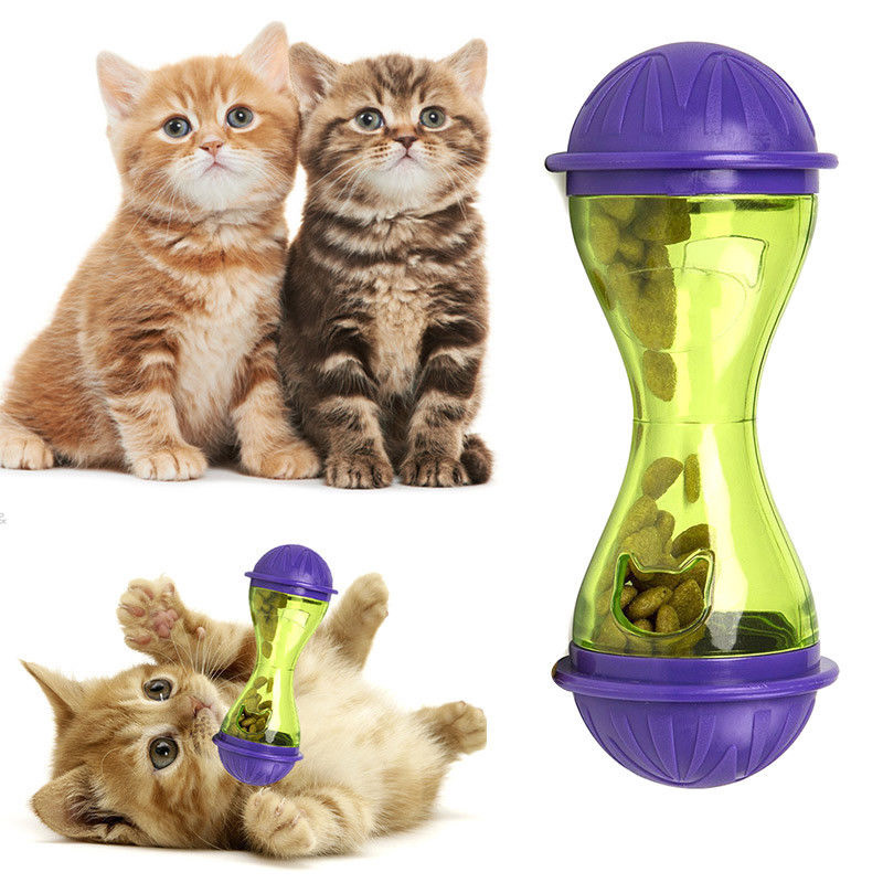 Неваляшка корм для домашних животных ing ПЭТ протечки устройства корм для домашних животных корыто Pet здоровье кошка еда прочный ABS