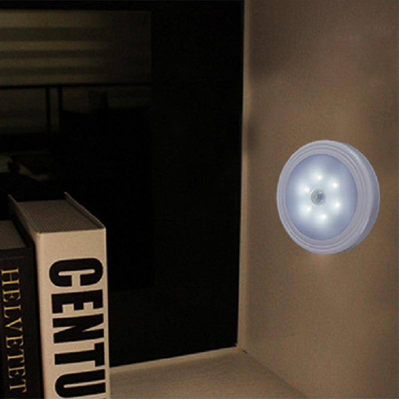 3pcs motion sensor night light indoors for closet stairs bathroom