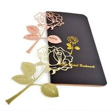 Розовое золото металлик Цвет Прекрасный нержавеющий канцелярские