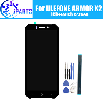 ULEFONE ARMOR X2 LCD Display+Touch Screen 100% Original Tested LCD Digitizer Glass Panel Replacement For ULEFONE ARMOR X2