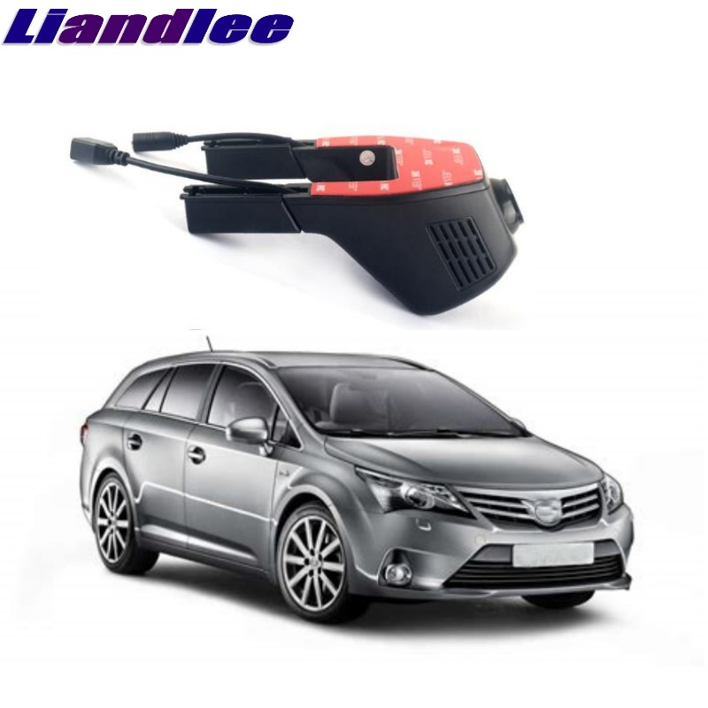 Liandlee For Toyota Avensis / Corona T220 T250 T270 1997~2018 Car Black Box WiFi DVR Dash Camera Driving Video Recorder