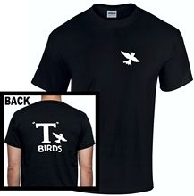 T Birds T-Shirt Grease John Travolta Bird Men Kids Rydell High 80s Retro New Shirts Funny Tops Tee Unisex