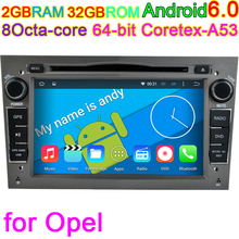 Sistema Android Octa Core Computer Audio Reproductor de DVD MultiMedia Para Opel Astra Zafira Vectra Corsa Meriva Antara Vivaro 4G