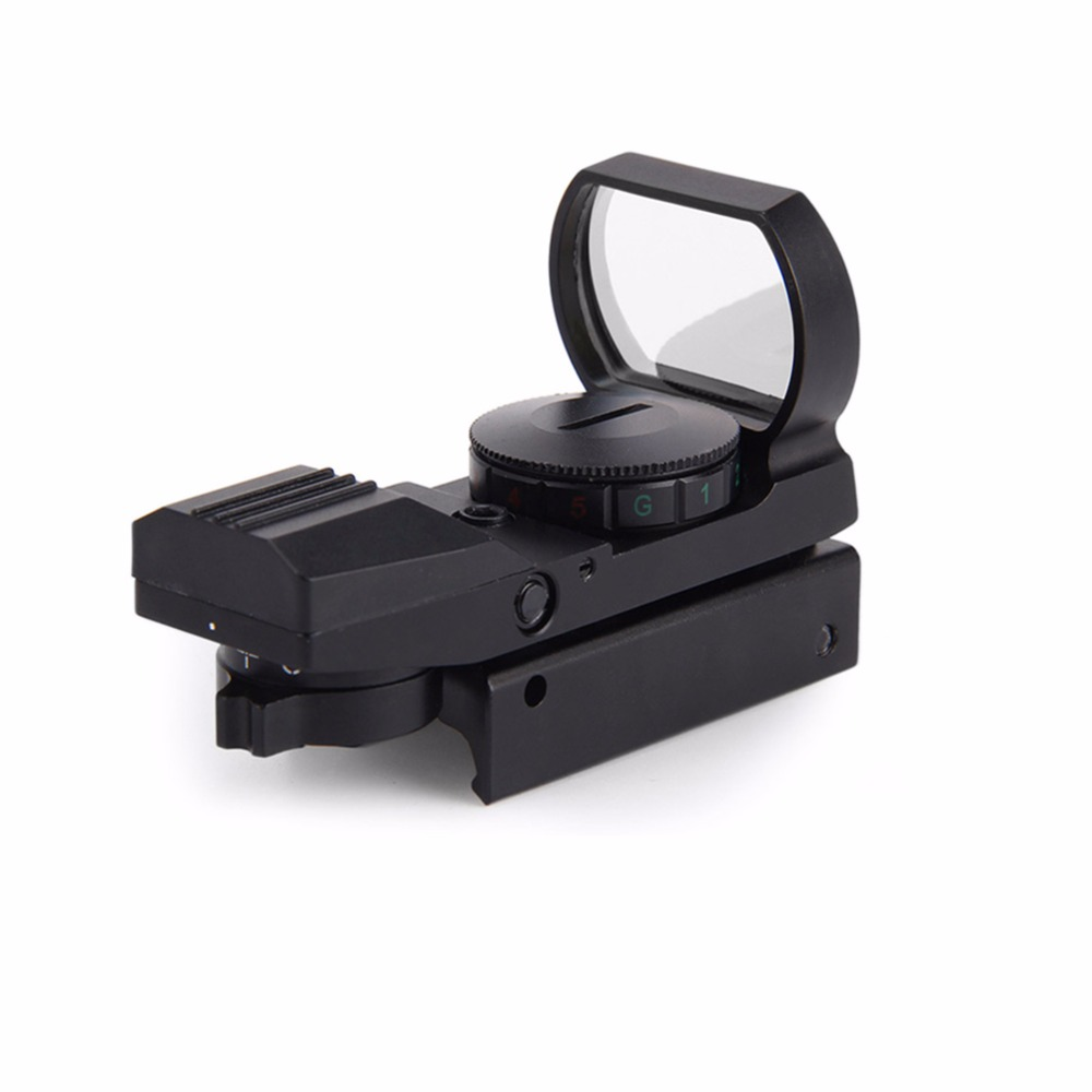 11mm / 20mm Reticle Tactical Gun Accessories Rail Rifle Scope Hunting Airsoft Optics Scope Holographic Red Dot Sight Reflex 4