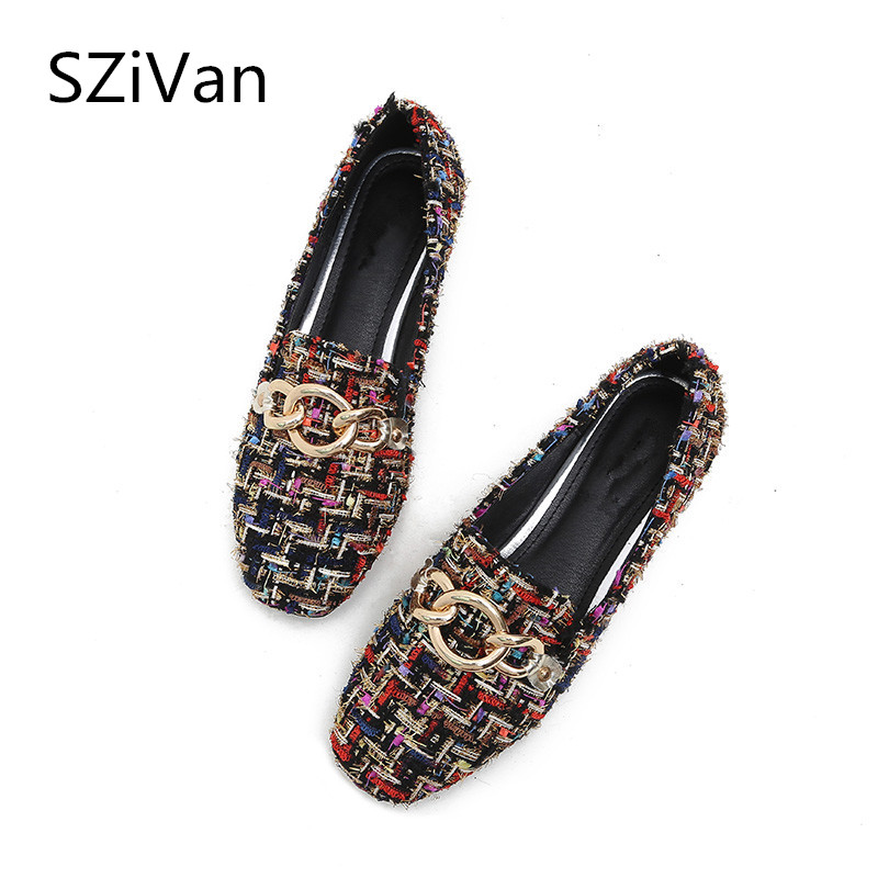 SZiVan New/BIG SIZE 33-43 Women shoes flats Ladies Fashion spring Autumn winter velvet Comfortable Women's Casual shoes Female aiyuqi big size 42 100% natural genuine leather female flat shoes 2018 spring new ladies shoes comfortable nurse shoes female