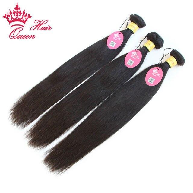 Перуанский Девы Волос Прямой 3 шт. Перуанский 100% Девственницы Человеческих Волос Queen Продукты Волос Класс 7А 3 шт./лот