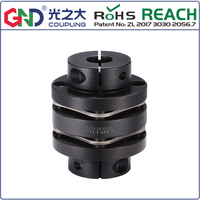 GNLT 45# Steel Stepped Double Diaphragm Clamp Series 45# Steel shaft couplings D82mm to D126mm; L98mm to L110mm