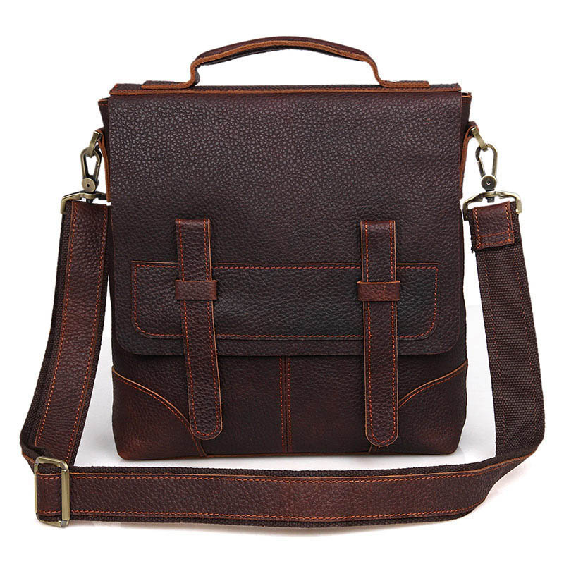 JMD Genuine Leather Vintage Men Bags Male Cowhide Flap Bag Shoulder Crossbody Bag Handbag Messenger Small Casual Men Leather Bag mva genuine leather men s messenger bag men bag leather male flap small zipper casual shoulder crossbody bags for men bolsas