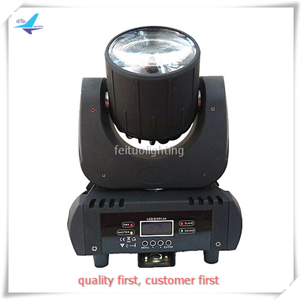 A-4 x Stageline 60w led beam moving head from feituo stage light Beam Spot DMX Auto Sound Disco DJ Lighting Kit