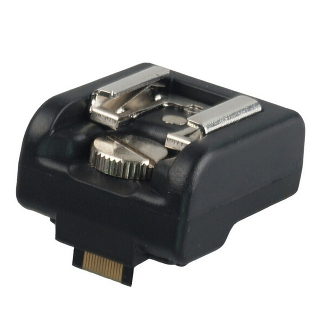 소니 nex 3 5 7 시리즈 카메라 용 pc 포트가있는 핫슈 핫슈 어댑터 캐논 니콘 용인 godox wansen pentax flash