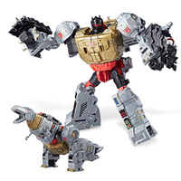 18cm Transformation GRIMLOCK STARSCREAM ELITA HUN GURRR Voyager Class Robot Car Plastic Action Figure Toys