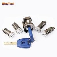 Okeytech SIP22 Blade Lgnition Lock Set Key For Fiat Car Milling Lock Original Car Modified Car