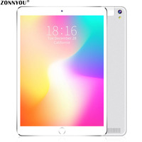10.1 inch Original Powerful Octa Core Android 8.0 Tablet PC 4GB 32GB WiFi Laptop 3G Dual SIM Card Phone 3G Call Tab Tablet PC