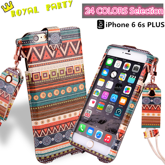 outlet store bb9d9 0a962 US $7.58 |For Apple iPhone 6 6s 4.7 PLUS 5.5 Neck Strap Rope Fashion  Exquisite Design Leather Cover Case TPU+Leather Bag HOT Wholesale on ...