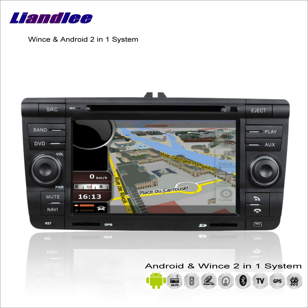 Liandlee Car Android Multimedia Stereo For Skoda Laura / Octavia MK2 2005~2012 Radio BT CD DVD Player GPS Navigation Audio Video