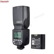 Godox Ving V860II V860II-C 2.4G GN60 E-TTL HSS 1/8000 s batterie Li-ion Flash Speedlite pour C DSLR + Softbox Kit cadeau CD50