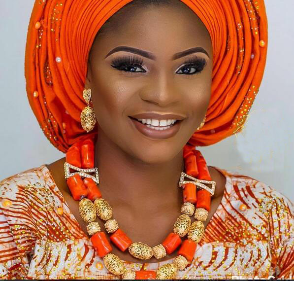 Smart Nigerian Wedding Coral Beads Jewelry Set Dubai Gold African Bridal Jewelry Sets Necklace Earring Set