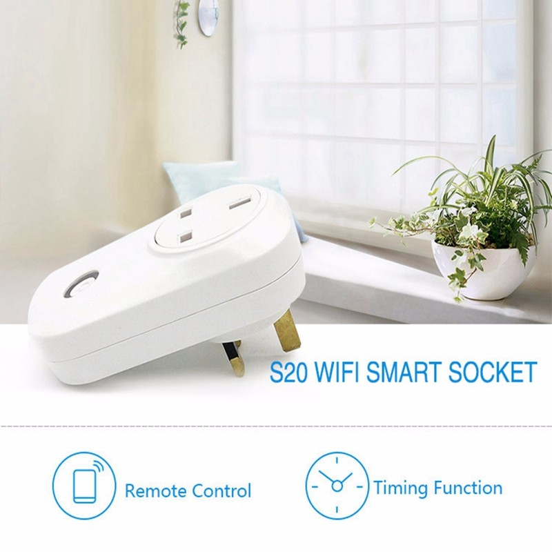 Sonoff S20 Wifi Wireless Remote Control Socket Smart Home Power Socket EU US UK AU Standard for Android&ios App Phone Smart Home (4)