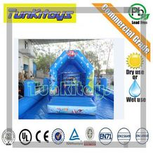 Home Use Mini Inflatable Bouncers Kids Bouncy Castle Outdoor Backyard Playing Trampoline with Blower