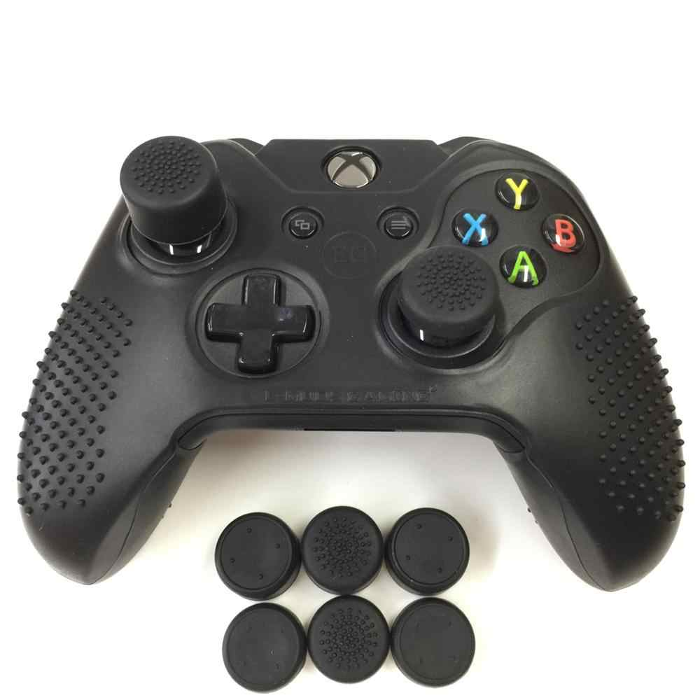 Противоскользящий Шипованный набор для кожи для Xbox One (& One S) силиконовый чехол с подходящим набором из 8 аналоговых джойстиков AceShot