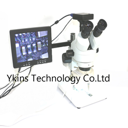 W dalszym ciągu lornetka 3.5x-90x trinokularnej mikroskop stereo HDMI/VGA/USB outoput 1/2. 5