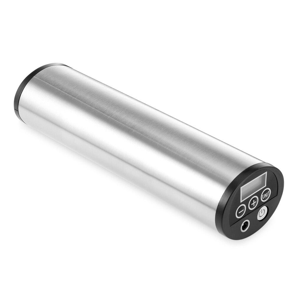 Gonfleur d'air électrique Rechargeable portatif de pompe à bicyclette intelligente de 150 PSI avec la pression de pneu d'affichage numérique pour la boule de jouet de voiture de vélo