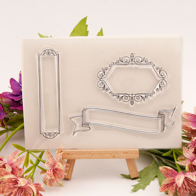 ZFPARTY Label Transparent Clear Silicone Stamp/Seal for DIY scrapbooking/photo album Decorative card making