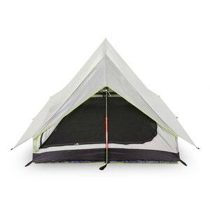 Image 2 - Lixada Ultralight 2 osoby podwójne drzwi siatkowy namiot turystyczny idealny na kemping z plecakiem i przez wędrówki namioty Outdoor Camping
