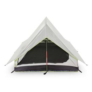 Image 2 - Lixada tienda de campaña ultraligera para 2 personas refugio de malla de doble puerta, perfecto para acampar, mochilero y a través de tiendas de campaña para acampar al aire libre
