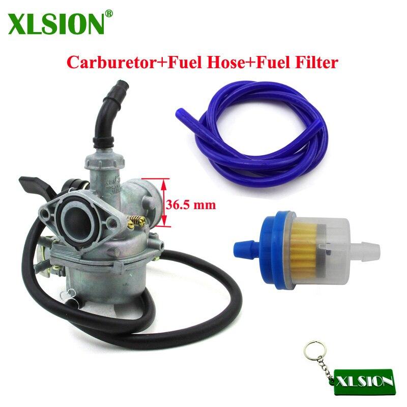 xlsion 19mm carb pz19 carburetor carb fuel hose filter for. Black Bedroom Furniture Sets. Home Design Ideas