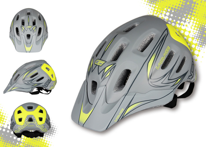ФОТО MTB AM helmet bicycle off-road/downhill racing helmet Cycling Laplace XXEPU Integrally-Molded Helmet 56~59cm 330g 18holes