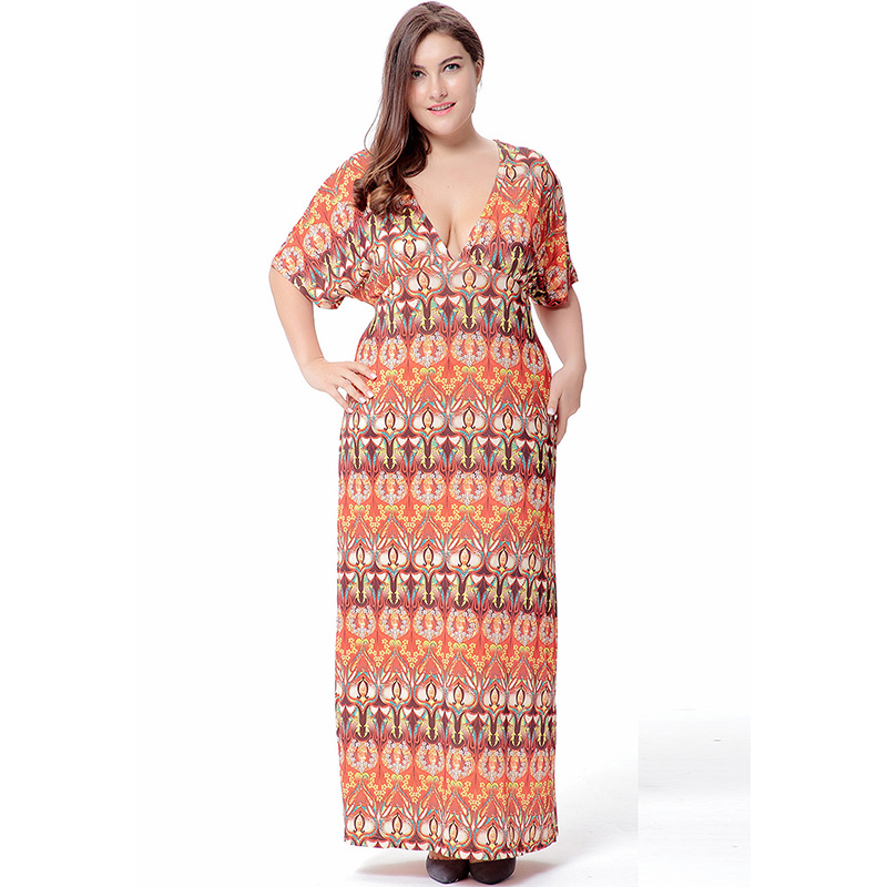 a6b5ecfcf3 Worldwide delivery plus size dresses for women 4xl 5xl 6xl maxi ...